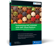 Cover of Customizing SAP S/4HANA with SAP Cloud Platform