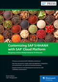 Cover von Customizing SAP S/4HANA with SAP Cloud Platform