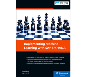 Cover von Implementing Machine Learning with SAP S/4HANA