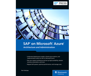 Cover of SAP on Microsoft Azure