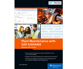 Cover of Plant Maintenance with SAP S/4HANA: Business User Guide