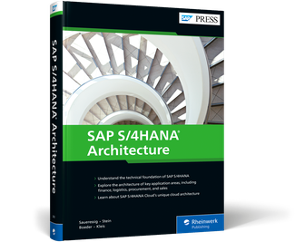Cover of SAP S/4HANA Architecture