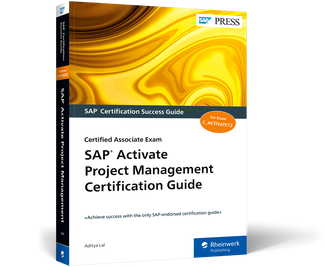 Cover of SAP Activate Project Management Certification Guide
