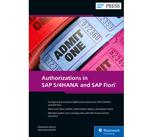 Cover of Authorizations in SAP S/4HANA and SAP Fiori