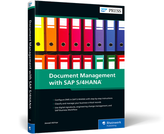 Cover of Document Management with SAP S/4HANA
