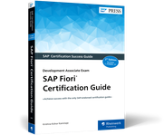 Cover von SAP Fiori Certification Guide