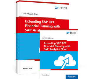 Cover von Extending SAP BPC Financial Planning with SAP Analytics Cloud