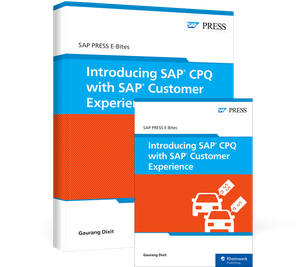 Cover von Introducing SAP CPQ with SAP Customer Experience