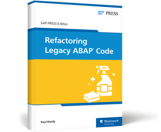 Cover of Refactoring Legacy ABAP Code