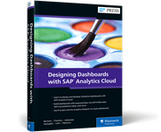 Cover of Designing Dashboards with SAP Analytics Cloud