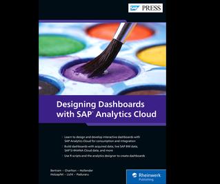 Cover von Designing Dashboards with SAP Analytics Cloud