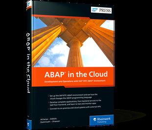 Cover of SAP Cloud Platform, ABAP Environment