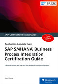 Cover von SAP S/4HANA Business Process Integration Certification Guide