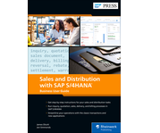 Cover of Sales and Distribution with SAP S/4HANA: Business User Guide