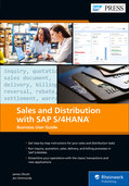 Cover von Sales and Distribution with SAP S/4HANA: Business User Guide