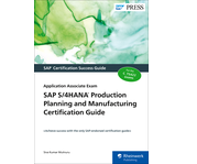 Cover of SAP S/4HANA Production Planning and Manufacturing Certification Guide