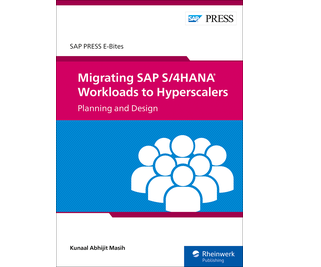 Cover of Migrating SAP S/4HANA Workloads to Hyperscalers: Planning and Design