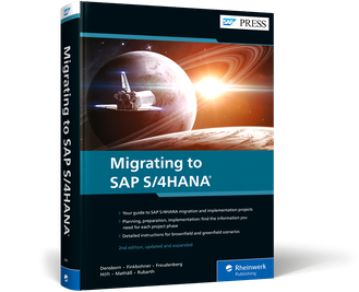 Cover of Migrating to SAP S/4HANA