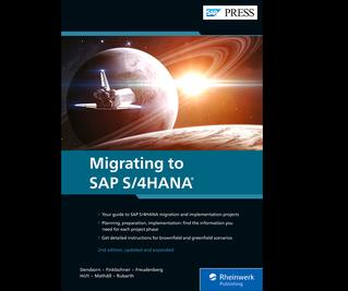 Cover von Migrating to SAP S/4HANA