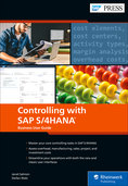 Cover of Controlling with SAP S/4HANA: Business User Guide