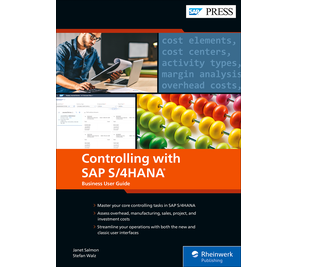 Cover von Controlling with SAP S/4HANA: Business User Guide