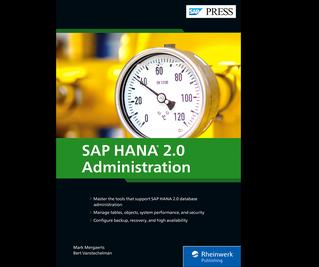 Cover von SAP HANA 2.0 Administration