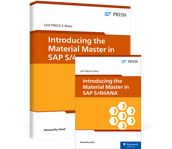 Cover von Introducing the Material Master in SAP S/4HANA