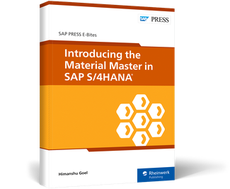 Cover of Introducing the Material Master in SAP S/4HANA