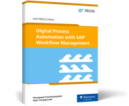 Cover of Digital Process Automation with SAP Cloud Platform Workflow Management