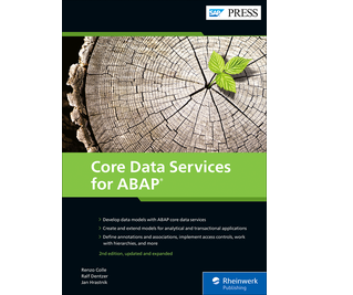 Cover of Core Data Services for ABAP