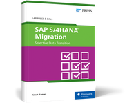 Cover von SAP S/4HANA Migration: Selective Data Transition