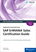 Cover of SAP S/4HANA Sales Certification Guide