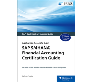 Cover of SAP S/4HANA Financial Accounting Certification Guide