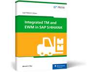 Cover von Integrated TM and EWM in SAP S/4HANA
