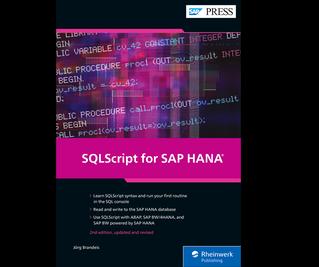 Cover von SQLScript for SAP HANA