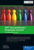 Cover of SAP SuccessFactors Employee Central