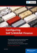Cover of Configuring SAP S/4HANA Finance