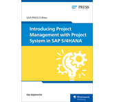 Cover of Introducing Project Management with Project System in SAP S/4HANA