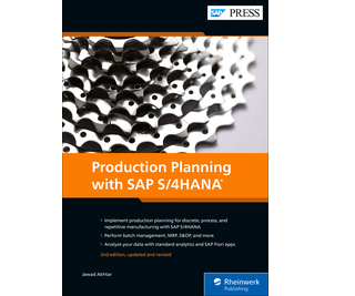 Cover of Production Planning with SAP S/4HANA