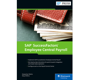 Cover of SAP SuccessFactors Employee Central Payroll
