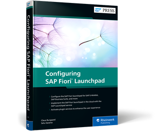 Cover of Configuring SAP Fiori Launchpad