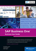 Cover of SAP Business One: Business User Guide