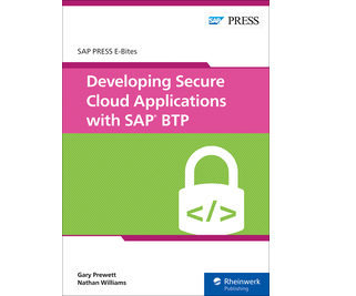 Cover of Developing Secure Cloud Applications with SAP BTP
