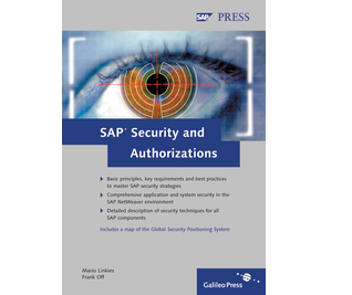 Cover von SAP Security and Authorizations