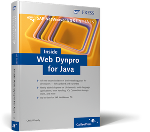 Cover von Inside Web Dynpro for Java