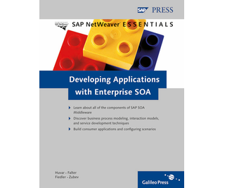 Cover von Developing Applications with Enterprise SOA