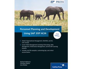 Cover von Personnel Planning and Development Using SAP ERP HCM