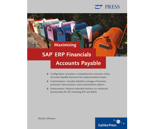Cover von Maximizing SAP ERP Financials Accounts Payable