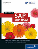 Cover of Discover SAP ERP HCM