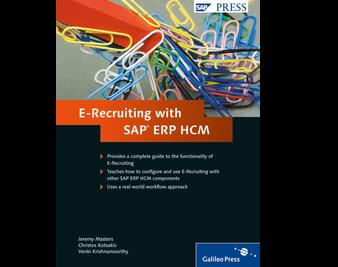 Cover von E-Recruiting with SAP ERP HCM